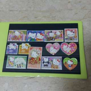 Japan Hello Kitty Stamps