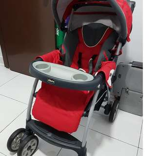 Chicco Stroller and Baby Car Seat