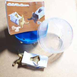 衛生紙盒貓咪 扭蛋