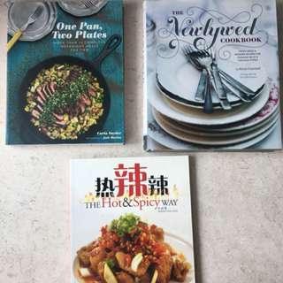 Cookbooks - various