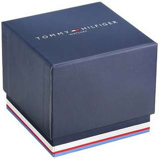 Tommy Hilfiger Keith Black Dial Black Silicone Mens Watch 1791153