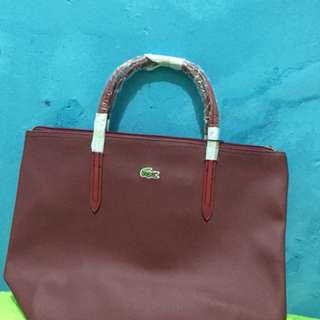Lacoste bag new import