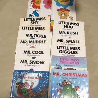 Little men/little missy (all books)