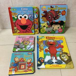 Sesame Street n Others HardCover Books