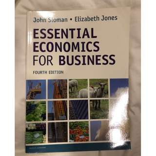 Essential Economics for Business by John Sloman and Elizabeth Jones (4th Ed)