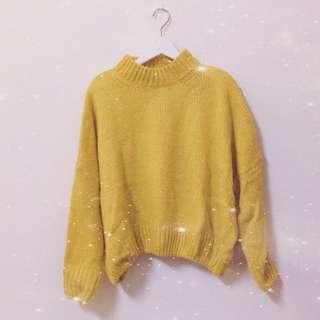 寬鬆針織毛衣