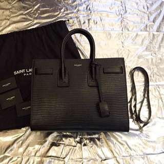 YSL Saint Laurent Classic Small Sac De Jour Bag 黑色 手挽袋