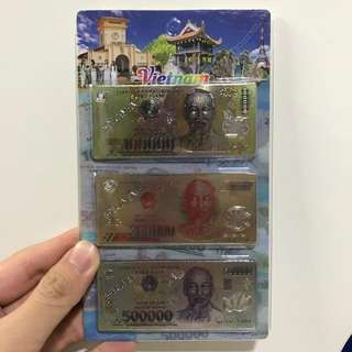 Vietnamese Dong Fridge Magnets