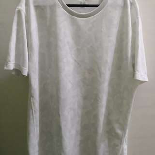 Uniqlo Dry Ex Dri Fit shirt white camo