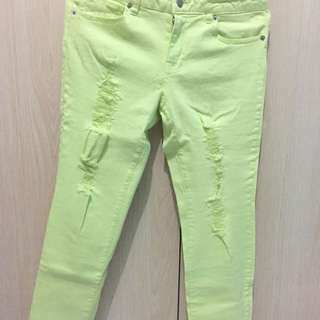 Preloved Forever 21 Ripped Jeans