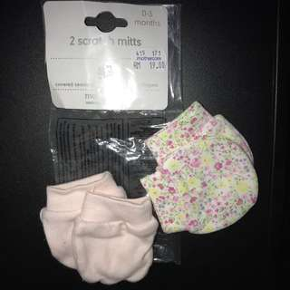 mothercare baby Mittens