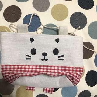 ❤️貓咪帆布袋(免運)