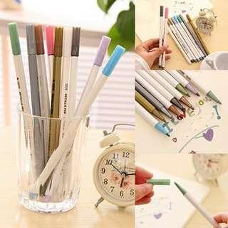 Metallic Pens (10 pcs)