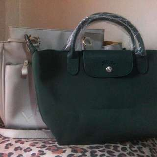 Longchamp Green Bag