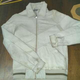 Nike Original Lamb Leather Bomber Jacket