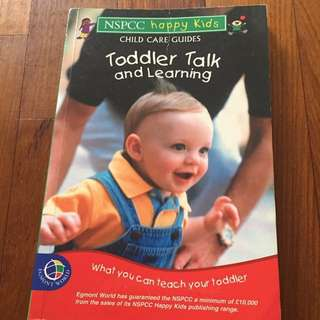 Toddler talk and learning