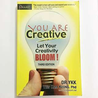 You are Creative - Let Your Creative Boom