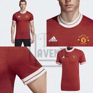 Adidas Manchester United Vintage 50-60s Jersey 2018