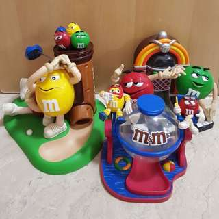 M&M collectible dispenser