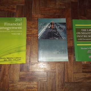 Accounting and Tax books!