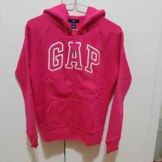 Gap Logo Fleece Hoodie 抓絨內裡連帽拉鏈衛衣(外套)