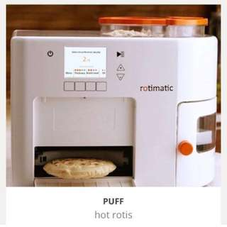 Brand New Boxed Rotimatic - Robotic Chappati/Puri maker- Eat well efficiently :)