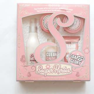 NEW : Soap and Glory Gift Set