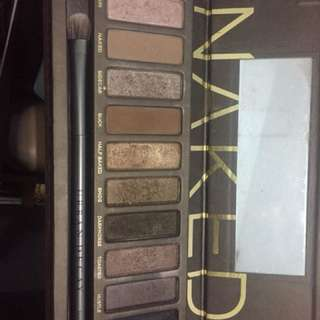 Naked 1 eyeshadow pallette