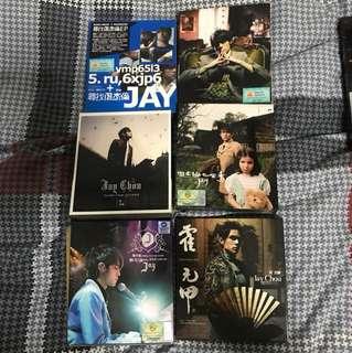 Jay Chou CD Albums