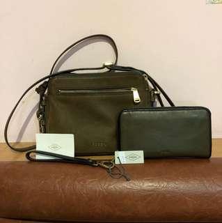 Fossil bag & wallet