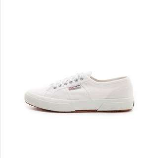 Superga Crisp White Sneakers