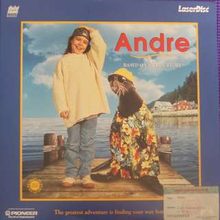 Laser Disc Movie - Andre