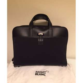 Montblanc authentic large laptop/document briefcase