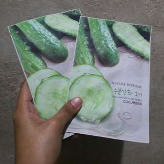 NATURE REPUBLIC Cucumber Mask Sheet