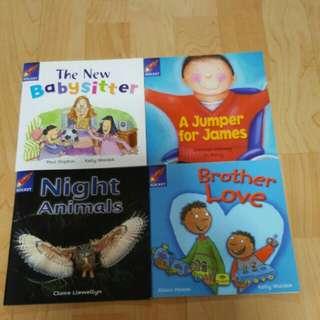 4 Rigby Rocket books