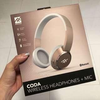 CODA wireless Headphones + Mic