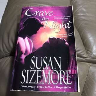Romance Novel, Crave the Night, Susan Sizemore