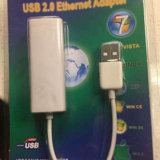 USB2.0 Ethernet adapter
