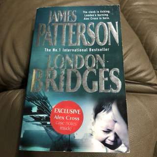 Crime,Thriller,Suspense Novel - London Bridges, James Patterson