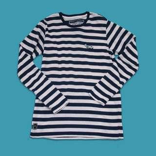 Macbeth nautical striped sweater