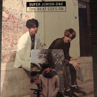 Super Junior - D&E 東海 銀赫 CD The Beat Goes On