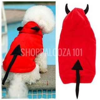 Devil Costume for Dogs