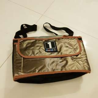 Collapsible cooler bag and trunk organizer