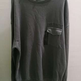 Divided H&M olive long sleeve