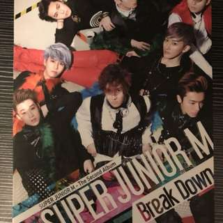 Super Junior M Break Down 二輯