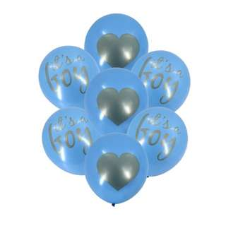 10pcs Baby Boy Shower  Balloons