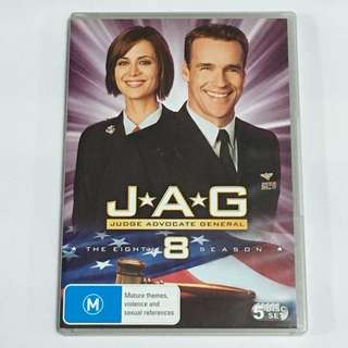 5DVD•30% OFF GREAT CNY SALE {DVD, VCD & CD} J*A*G JUDGE ADVOCATE GENERAL THE EIGHTH 8 SEASON : Mature themes, Violence and sexual references - 5DVD