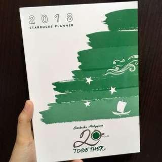 Starbucks Planner 2018 without Vinta card