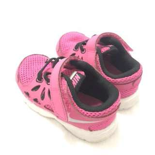 Authentic Nike Babies Pink Rubbershoes