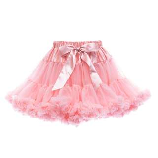 Petti Tutu Skirt (Baby Girl) - Rose Pink